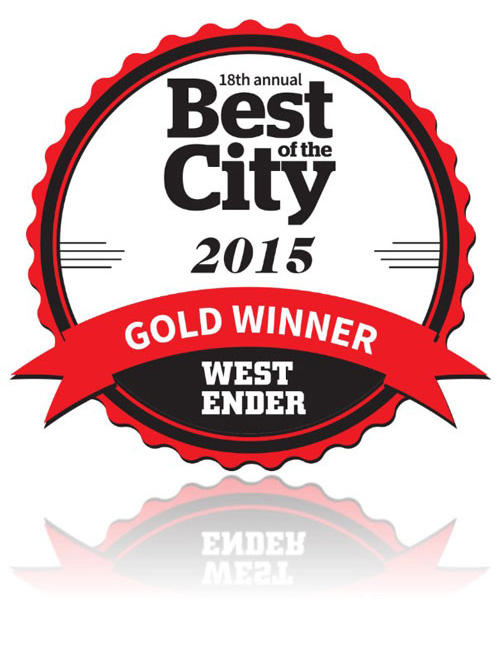 Best of the City 2015 Gold Winner