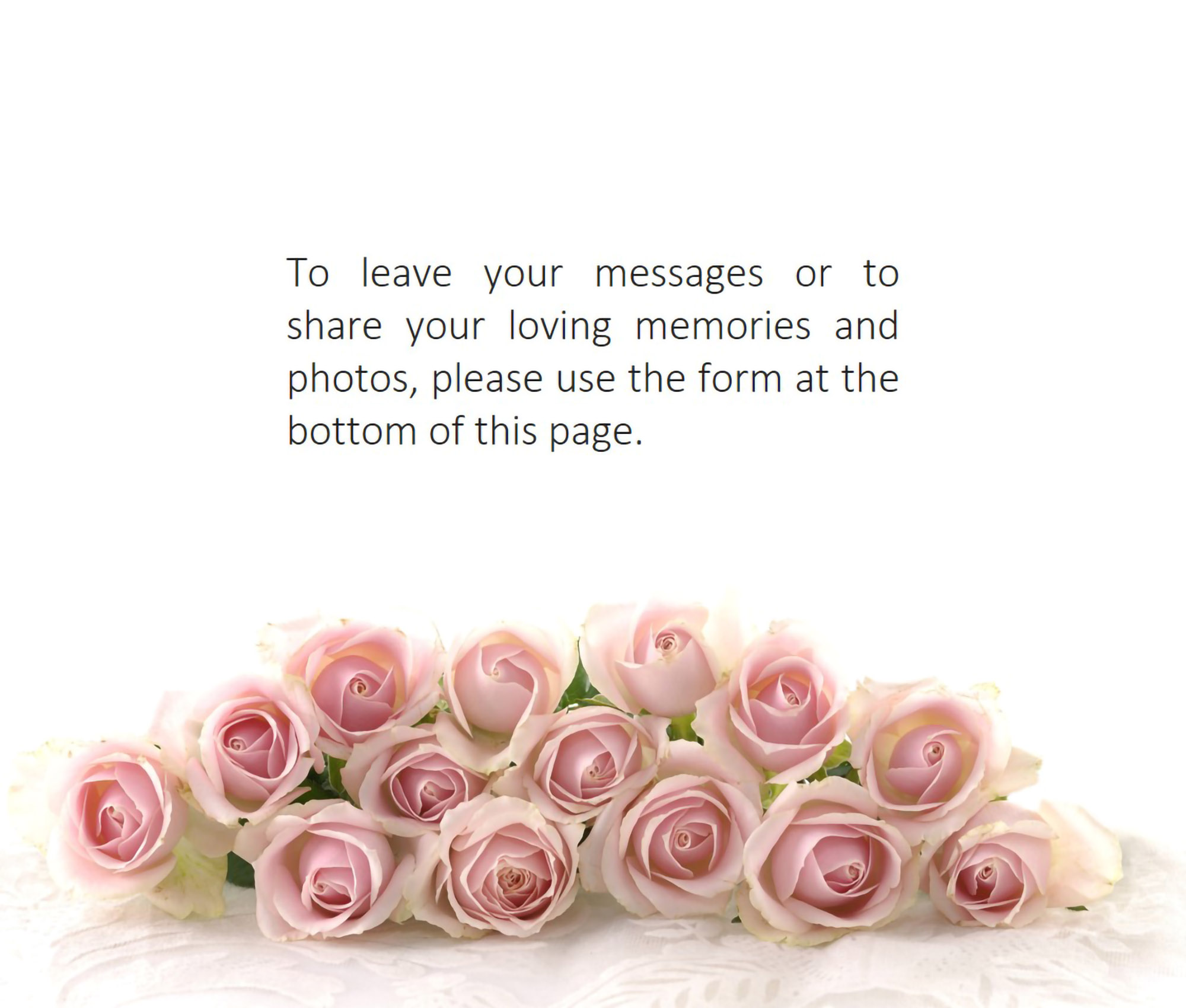 condolence messages for Lois and family